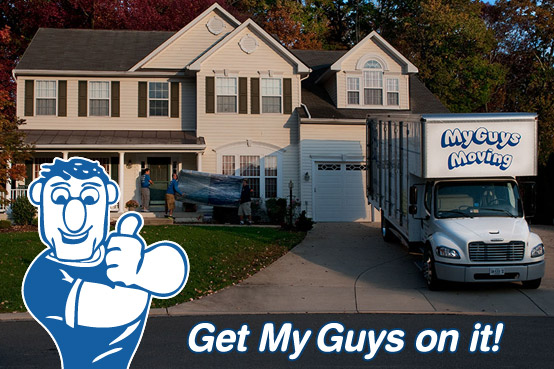 Looking for movers in Ashburn VA? Call My Guys Moving