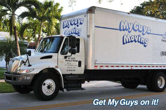 picture of local movers Fort Lauderdale from a moving company serving Fort Lauderdale customer