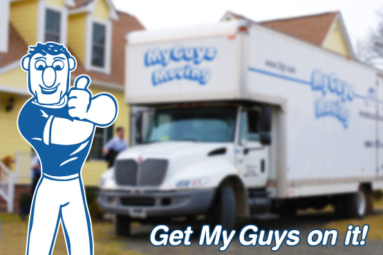 Looking for movers in Herndon VA? Call My Guys Moving