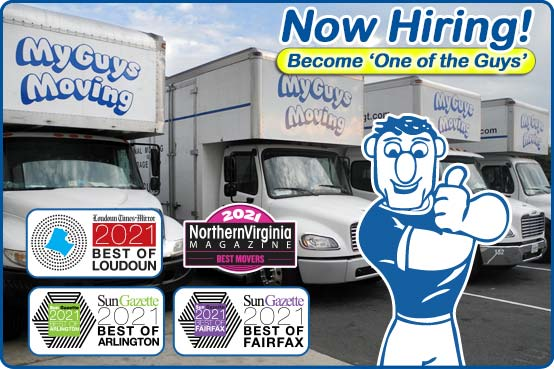 now hiring for moving jobs