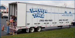 Two Guys and a Truck moving trailer