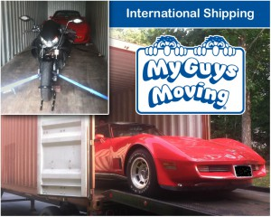 Moving Overseas - International Shipping