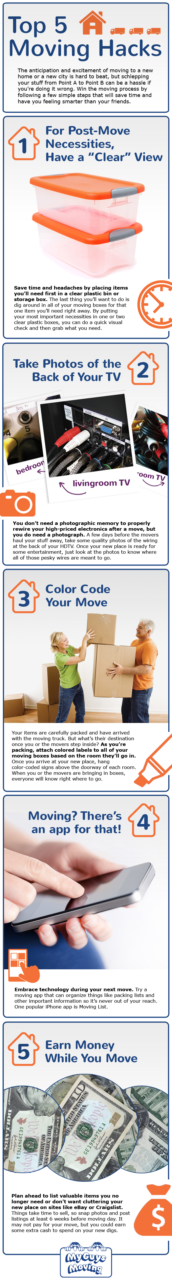 moving tips and tricks - the top 5 hacks