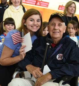 Veteran Smiling