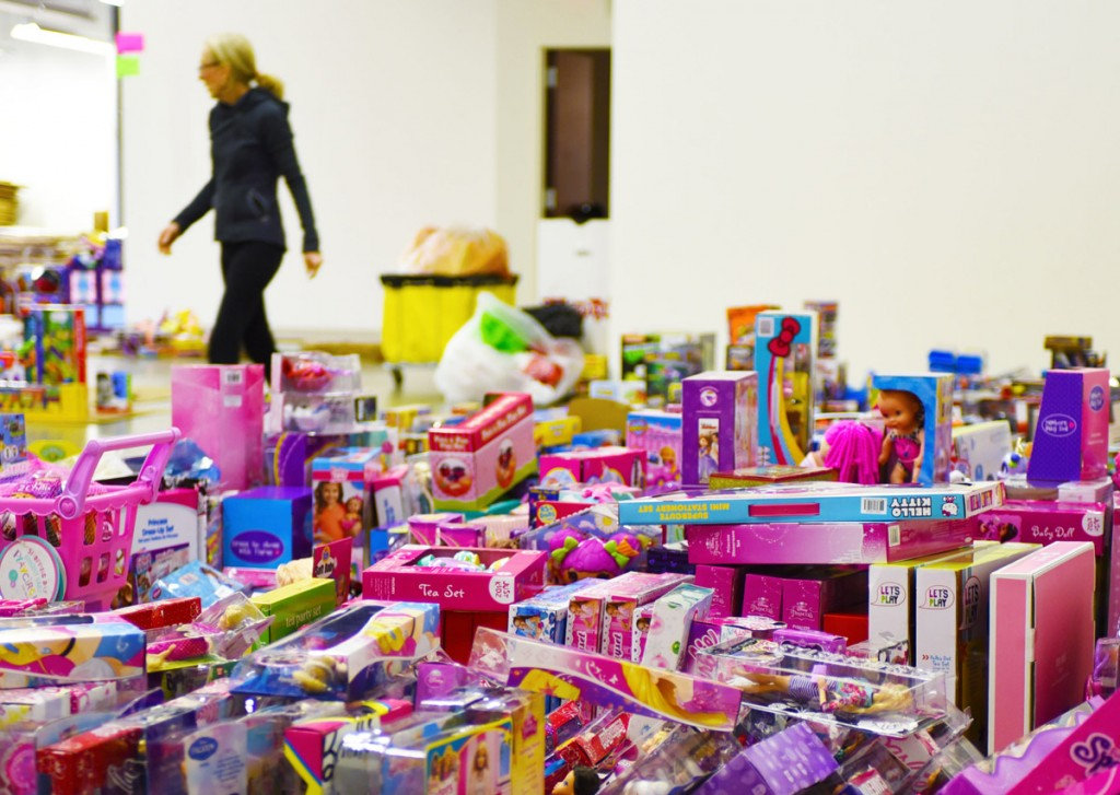 Toys for Tots Collection Center