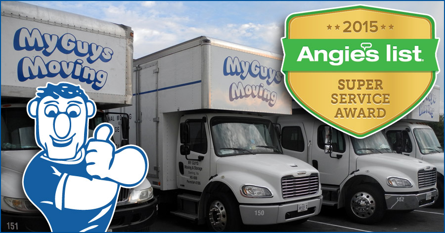 best moving companies on AngiesList 2015
