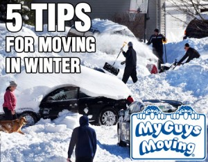 5 tips for moving in winter