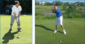movers at golf tournament