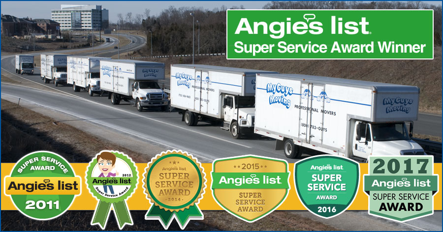 Angie S List Super Service Award 2017 My Guys Moving