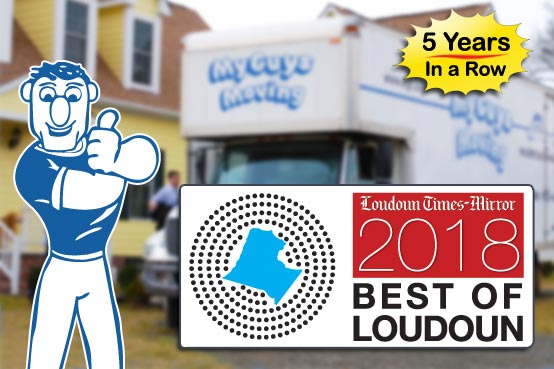 photo of best moving companies in Loudoun County VA 2018