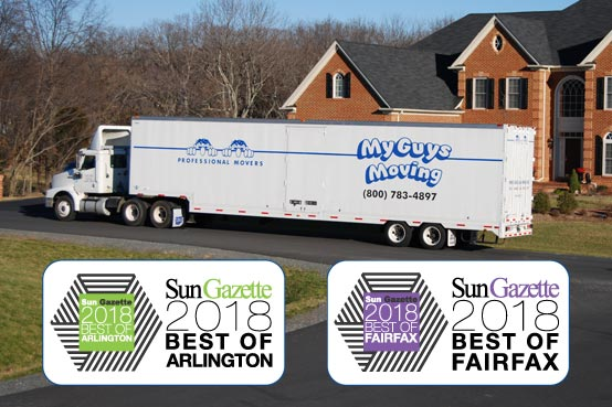 best moving companies in arlington va fairfax 2018 photo showing awards